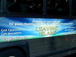 Iklan bus di Kota New York memprovokasi umat Islam
