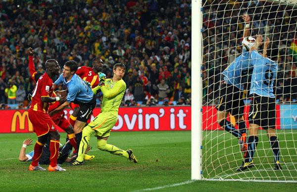 Uruguay v Ghana: 2010 FIFA World Cup - Quarter Finals