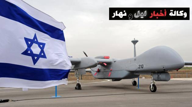 Drone Israel yang melakukan serangan udara ke Wilayah Sinai Mesir. (foto: twsela.com)