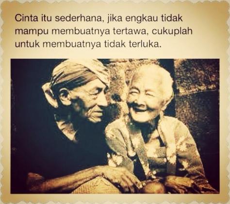 cinta itu sederhana