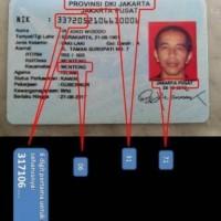 Palsukah KTP Capres Joko Widodo?