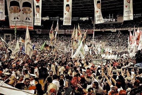 Prabowo Subianto di GBK